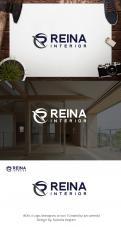 Logo & stationery # 1236127 for Logo for interior design  Reina  stam en staal  contest