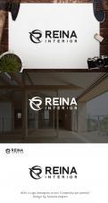 Logo & stationery # 1236128 for Logo for interior design  Reina  stam en staal  contest