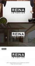 Logo & stationery # 1236130 for Logo for interior design  Reina  stam en staal  contest