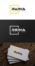 Logo & stationery # 1236137 for Logo for interior design  Reina  stam en staal  contest