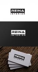 Logo & stationery # 1236138 for Logo for interior design  Reina  stam en staal  contest