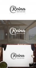 Logo & stationery # 1236062 for Logo for interior design  Reina  stam en staal  contest