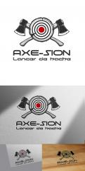 Logo & stationery # 1151577 for Create our logo and identity! We are Axe Sion! contest