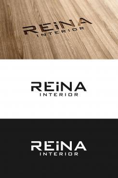 Logo & stationery # 1235733 for Logo for interior design  Reina  stam en staal  contest