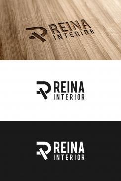 Logo & stationery # 1235738 for Logo for interior design  Reina  stam en staal  contest