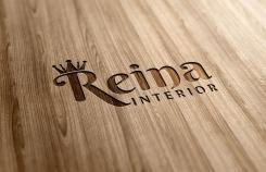 Logo & stationery # 1237121 for Logo for interior design  Reina  stam en staal  contest