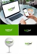 Logo & stationery # 1174876 for Design a logo and corporate identity for GolfTed   electric golf trolleys contest