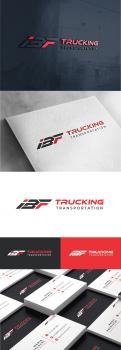 Logo & stationery # 1233028 for Brand logo for trucking company contest