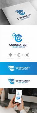 Logo & Huisstijl # 1222899 voor coronatest diagnostiek nl   logo wedstrijd