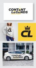 Logo & Huisstijl # 1221908 voor Rebranding van logo en huisstijl voor creatief bureau Content Legends wedstrijd