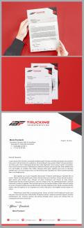 Logo & stationery # 1236318 for Brand logo for trucking company contest