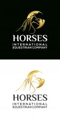 Logo & stationery # 1122278 for Worldwide logo for horse company contest