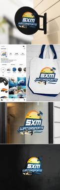 Logo & stationery # 1095941 for Logo and corporate identity for water sports company Caribbean Island contest