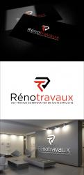 Logo & stationery # 1122444 for Renotravaux contest