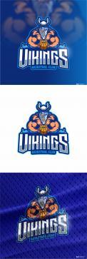 Logo & Huisstijl # 1102709 voor Basketbalclub Vikings wedstrijd