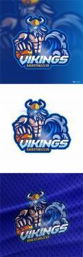 Logo & Huisstijl # 1102718 voor Basketbalclub Vikings wedstrijd