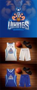 Logo & Huisstijl # 1102869 voor Basketbalclub Vikings wedstrijd