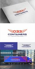 Logo & stationery # 1188174 for Logo for NEW company in transport of construction containers  truck and construction buckets  contest