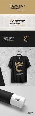 Logo & Huisstijl # 1222203 voor Rebranding van logo en huisstijl voor creatief bureau Content Legends wedstrijd