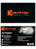 Logo & stationery # 911634 for Krypton Consulting logo + stationery contest