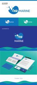 Logo & Huisstijl # 1042755 voor Een logo huisstijl voor een internationaal premium system integrator van H2  Hydrogen waterstof  installaties in de scheepvaart yachtbouw wedstrijd