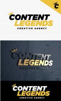 Logo & Huisstijl # 1222001 voor Rebranding van logo en huisstijl voor creatief bureau Content Legends wedstrijd