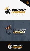 Logo & Huisstijl # 1222002 voor Rebranding van logo en huisstijl voor creatief bureau Content Legends wedstrijd