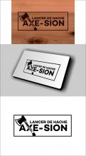 Logo & stationery # 1152471 for Create our logo and identity! We are Axe Sion! contest