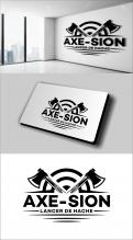 Logo & stationery # 1152502 for Create our logo and identity! We are Axe Sion! contest