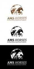 Logo & stationery # 1131737 for Worldwide logo for horse company contest
