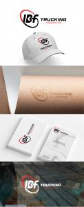 Logo & stationery # 1235842 for Brand logo for trucking company contest