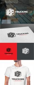 Logo & stationery # 1235262 for Brand logo for trucking company contest