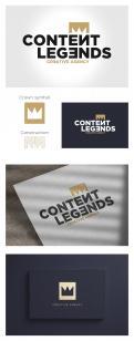 Logo & Huisstijl # 1222141 voor Rebranding van logo en huisstijl voor creatief bureau Content Legends wedstrijd