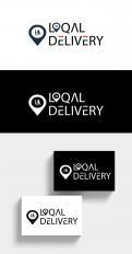 Logo & Huisstijl # 1250975 voor LOQAL DELIVERY is de thuisbezorgd van boodschappen van de lokale winkeliers  wedstrijd