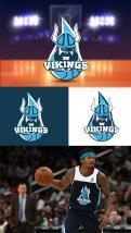 Logo & Huisstijl # 1102636 voor Basketbalclub Vikings wedstrijd