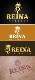Logo & Huisstijl # 1239593 voor Logo voor interieurdesign   Reina  stam en staal  wedstrijd