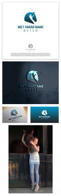 Logo & Huisstijl # 1242270 voor Ontwerp een sprekend logo voor  Met paard naar beter   wedstrijd