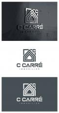 Logo & stationery # 1111958 for Creation of a logo and a graphic identity for a 2 0 Real Estate Agency contest