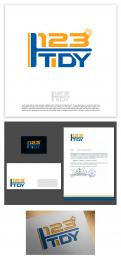 Logo & stationery # 1191315 for corporate identity and logo for a cleaning and maintenance company contest