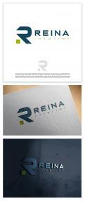 Logo & stationery # 1234091 for Logo for interior design  Reina  stam en staal  contest