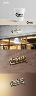 Logo & stationery # 1245631 for Logo for interior design  Reina  stam en staal  contest