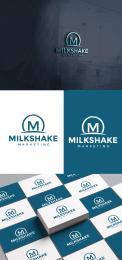 Logo & Huisstijl # 1104209 voor Wanted  Tof logo voor marketing agency  Milkshake marketing wedstrijd