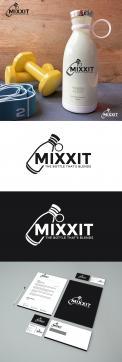 Logo & Huisstijl # 1174337 voor Mixxit   the bottle that blends wedstrijd