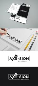 Logo & stationery # 1151270 for Create our logo and identity! We are Axe Sion! contest