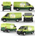 Other # 1220594 for Design the new van for a sustainable energy company contest