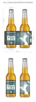 Other # 1188897 for Design a stylish label for a new beer brand contest