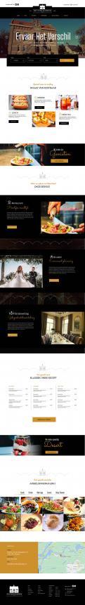 Overig # 1232668 voor Website voor een nieuw restaurant tevens trouw lokatie per 8 september wedstrijd