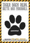 Print-Anzeige  # 349060 für Greenpeace Plakat-Wettbewerb 2014: Sujet für Plakat Kampagne zum Schutz des Sumatra Tigers Wettbewerb