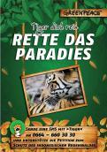 Print-Anzeige  # 350366 für Greenpeace Plakat-Wettbewerb 2014: Sujet für Plakat Kampagne zum Schutz des Sumatra Tigers Wettbewerb