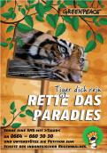 Print ad # 350193 for Greenpeace Poster contest 2014: Campaign for the protection of the Sumatra Tiger contest